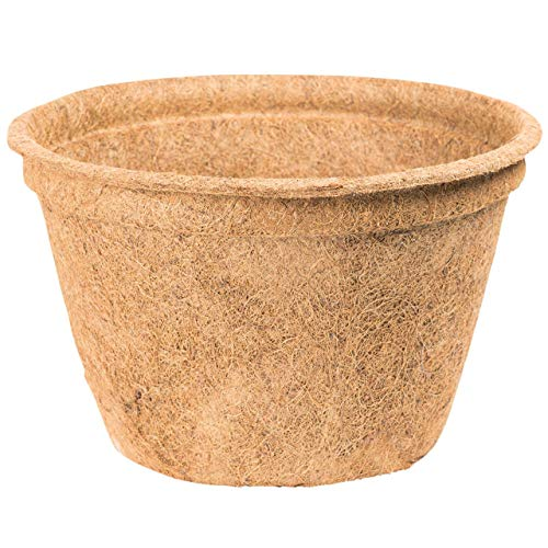 AFP Kokos-Übertopf Zum Winterschutz für Pflanzen, mindert Temperaturschwankungen (mit ISO-Material auspolstern) im Sommer Zum Gemüseanbau. Hier kaufen.