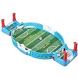 Mini juego de futbolín, futbolín para niños, juguete de educación temprana, rompecabezas para padres e hijos, máquina de juego interactiva de baloncesto con los dedos, fútbol × 2,56,5 cm × 27,5 cm × 1