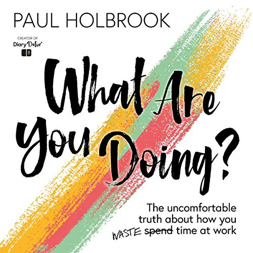 What Are You Doing? audiobook cover art