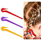 Hair Bands Remover - Elastic Hair Ties Cutter Pony Pick Pain Free Ponytail Remover Tool For Cutting Rubber Bands