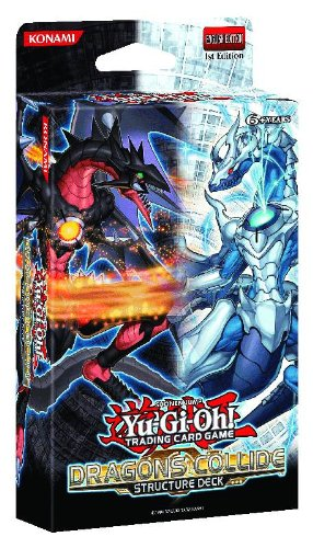 YU-GI-OH! Dragons Collide Structure Deck [Importado de Inglaterra]