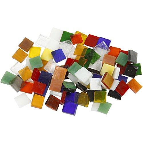 Carreaux de mosaïque en verre, dimensions 10 x 10 mm, 454 g