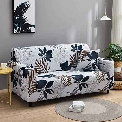 PPMP Housses de canapé en Spandex pour Impression de Salon Housse de canapé élastique Housses de Protection de Meubles de Fauteuil A24 4 Places