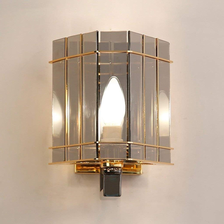 Gorkuor Wandleuchte Außenleuchte Kristall Wandleuchte E14 Schlafzimmer Kopfteil Wand Gang LED Kreative Wandleuchte by (Farbe   Parent) B07K2YXJ1R | Kaufen Sie beruhigt und glücklich spielen