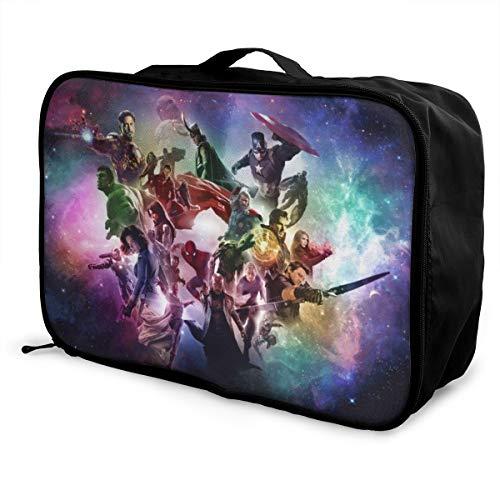 The Avengers - Bolsa de viaje impermeable para equipaje portátil de gran capacidad