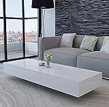 Oakome - Table Basse rectangulaire Blanche pour Salon, décoration de la Maison Vidaxl