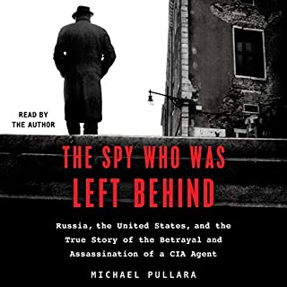 The Spy Who Was Left Behind audiobook cover art