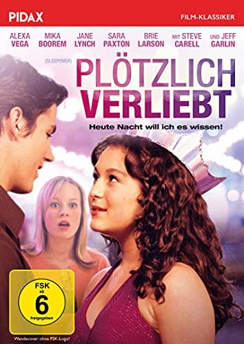 """Plötzlich verliebt (Sleepover) - Remastered Edition / Komödie mit Brie Larson (""""Captain Marvel"""") und Comedian Steve Carell (Pid"""