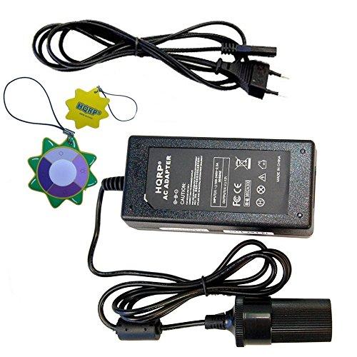 HQRP 12V 10A hochleistungs Konverter AC DC Adapter KFZ-Ladegerät für Flaschenwärmer mobil, Auto Tassenwärmer, Kühlbox, Wärmebox
