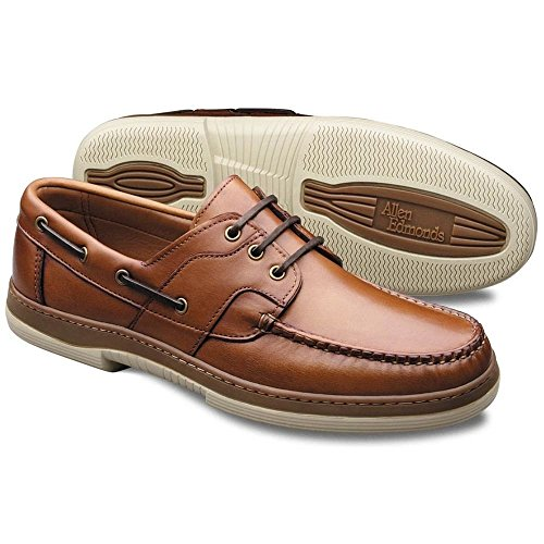 Allen Edmonds Men's Eastport Boat Shoe,Tan,8.5 EEE