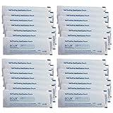 Artibest - Bolsas de esterilización autosellantes para limpieza profesional de esterilización de autoclave, 200 unidades, color blanco y azul