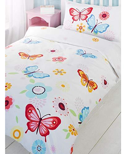 Price Right Home Papillon Simple Housse de Couette et taie d'oreiller Set