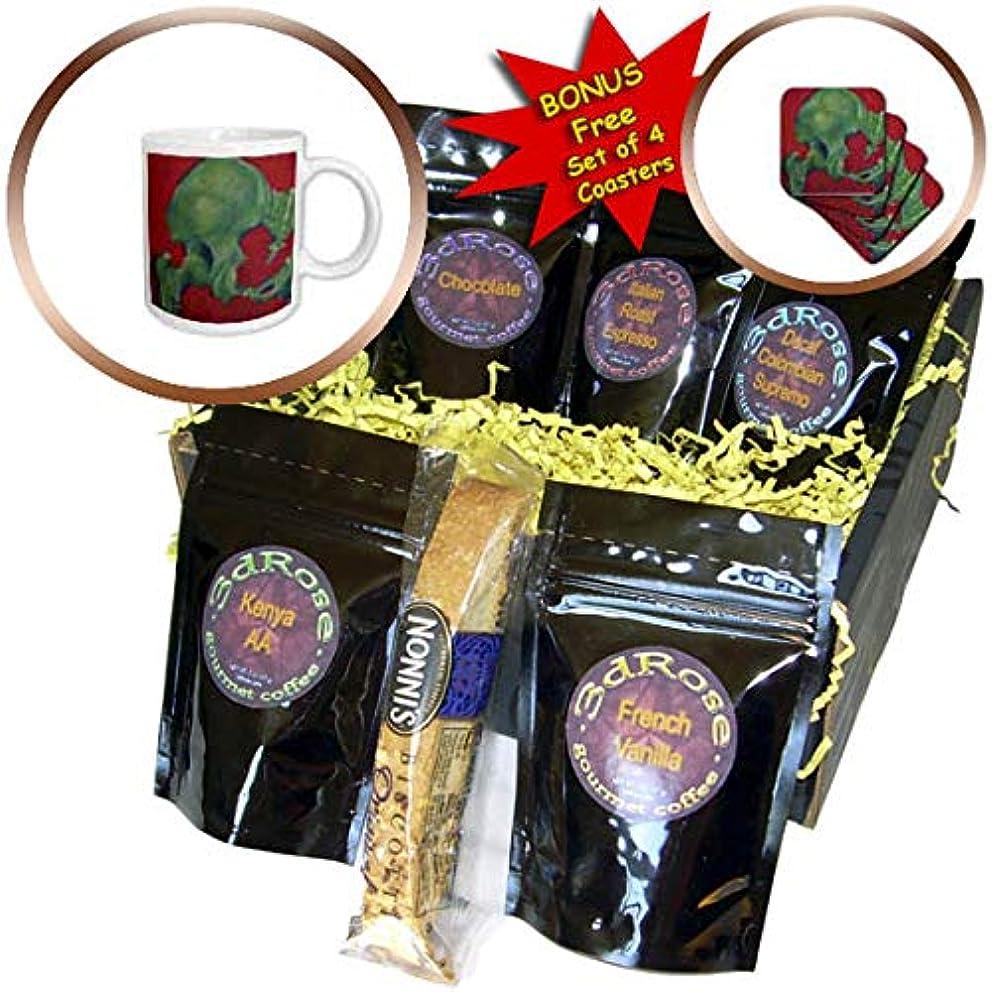 3dRose ChristopherCrouchArt - Oil Pastel - Drawing Hip Oil Pastel - Coffee Gift Basket (cgb_309845_1)