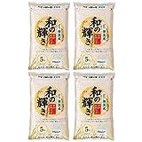 【精米】アイリスオーヤマ 和の輝き 無洗米 低温製法米 5kg ×4個