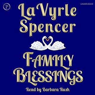 Family Blessings audiobook cover art