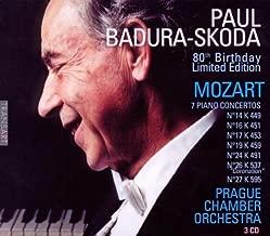 Mozart: 7 Piano Concertos 80th Birthday