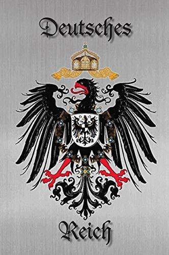 NWFS Deutsches Reich Adler Wappen Grauer Blechschild Metallschild Schild Metal Tin Sign gewölbt lackiert 20 x 30 cm