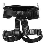 Fusion Climb Teka Tactical Padded Half Body Adjustable Bungee Dance Zipline Harness Steel Gear Loop 23kN M-XL Black