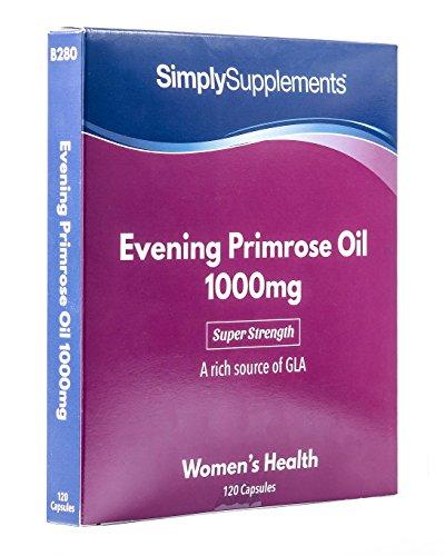 Teunisbloemolie 1000mg | 120 capsules | Ondersteunt een gezonde huid | Supplement
