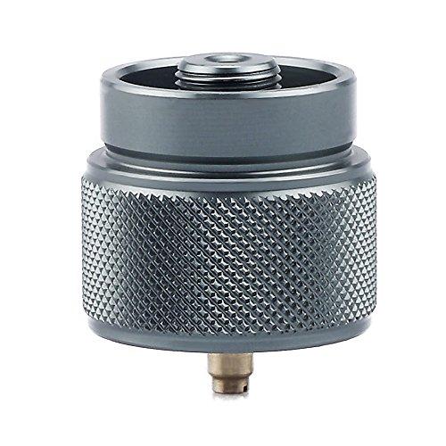 Lixada Adaptateur Gaz LPG Canister Head Adapter 1L Outdoor Camping Propane Petite entrée de Réservoir EN417 Lindal Valve Output