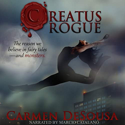 Creatus Rogue audiobook cover art