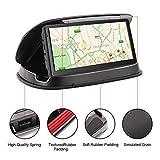 Fixation pour Tableau de Bord, antidérapant Pouf Friction Support GPS pour Garmin Nuvi Tomtom