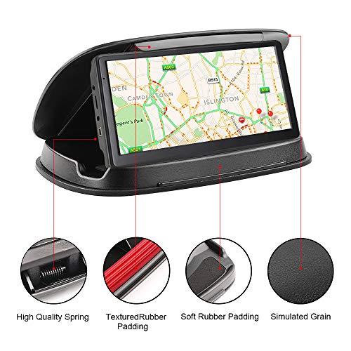 Soporte para teléfono de coche, soporte para salpicadero, antideslizante, para GPS Garmin Nuvi TomTom