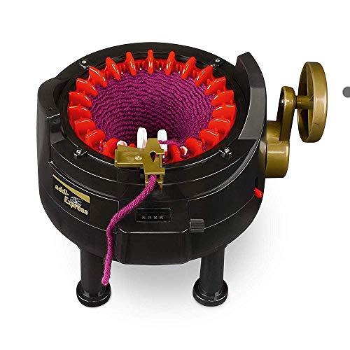 ADDI Express 22 Nadeln Strickmaschine, Kunststoff, schwarz, 23 x 25 x 15 cm (Generalüberholt)
