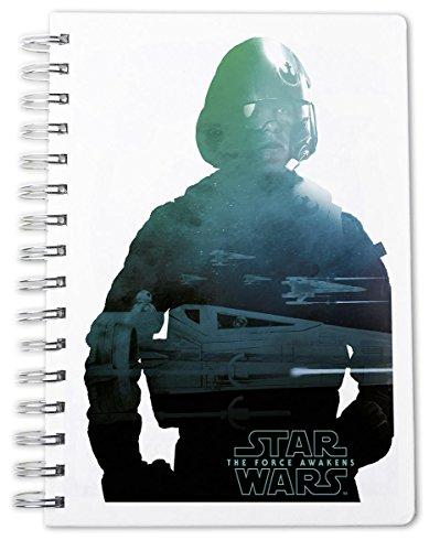 Star Wars / La Guerre des Étoiles Épisode 7 Calepin DIN A 5 Poe Dameron