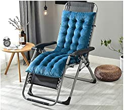 YLLN Recliner Cushion Seat Cushion Garden Chair Cushion Back Cushion High Back Cushion with Ties Chair Pads for Garden Cha...