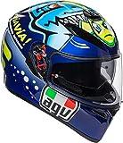 agv K3 SV Misano 2015 Bleu Casque De Moto Integral Taille XS