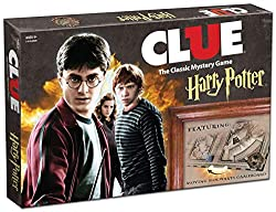 Clue, Harry Potter, game ideas for Harry Potter Lovers