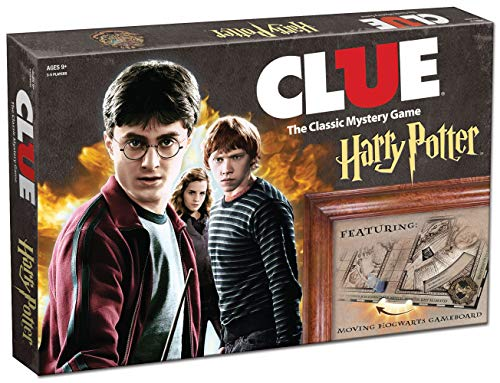 Hasbro Gaming Clue Harry Potter Board...
