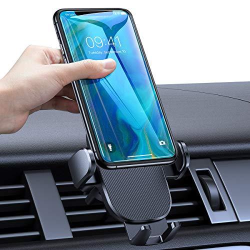 AINOPE Handyhalterung Auto Lüftung, [starker Griff] Handy Halter Auto [Einhandbedienung] Halterung Handy kfz mit EIN-Knopf-Entriegelung für 4-6.7 inch Smartphone