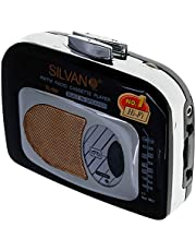 Radio Cassette Portatil Silvano SL-504 Walkman con Radio Am/FM