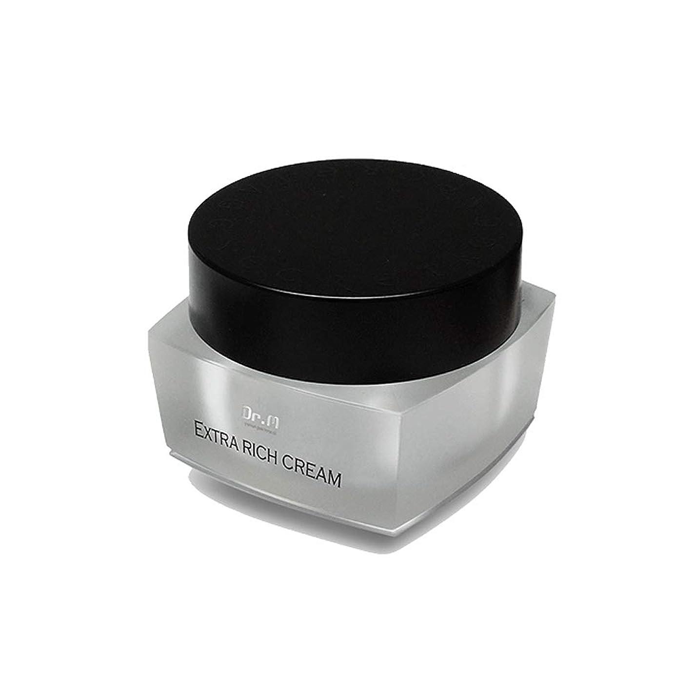 強大な争い楕円形[Dr.M] Extra Rich Cream 馬油 保湿 エクストラ リッチ クリーム [並行輸入品]