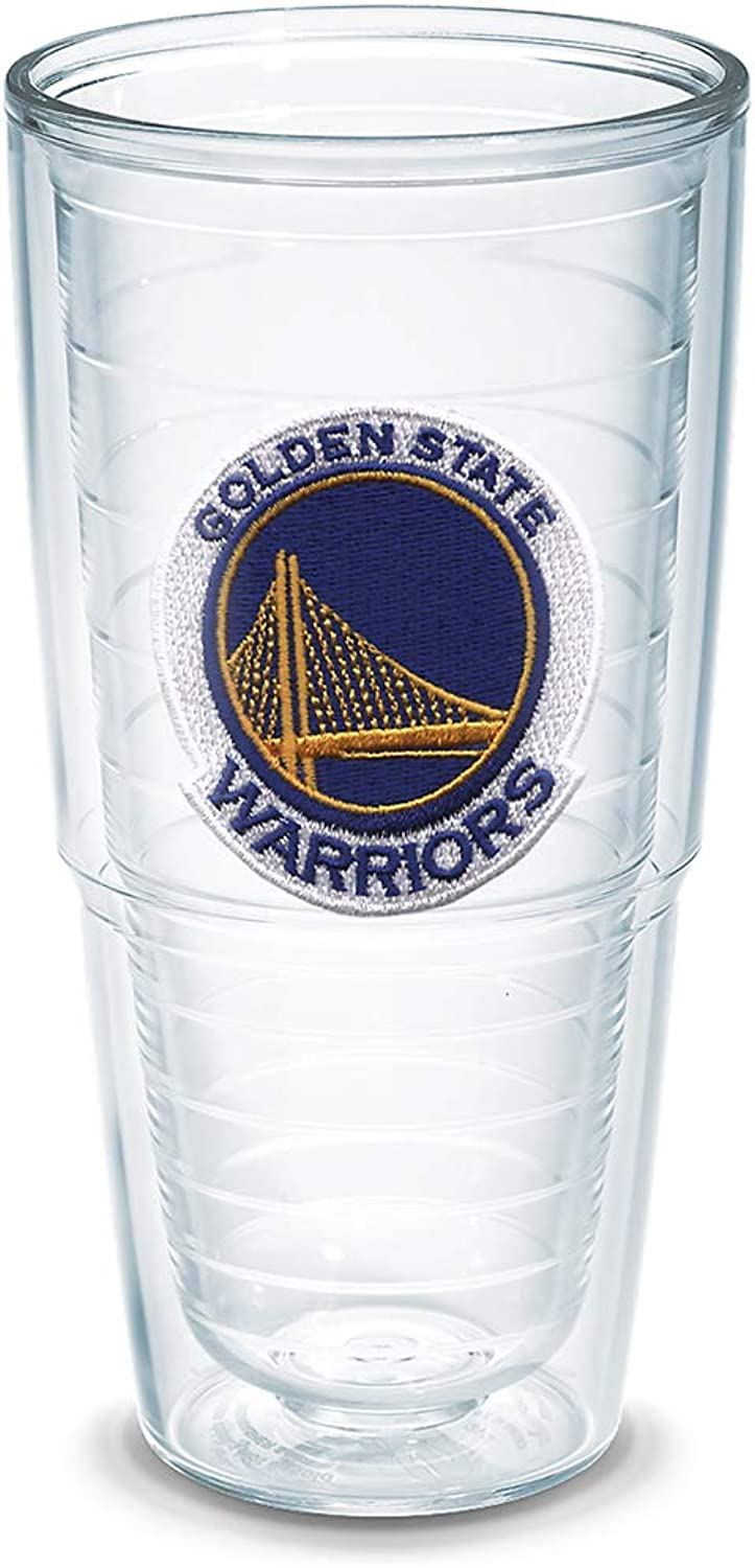 Tervis 1051533  NBA golden St Warriors  Tumbler, Emblem, 24 oz, Clear