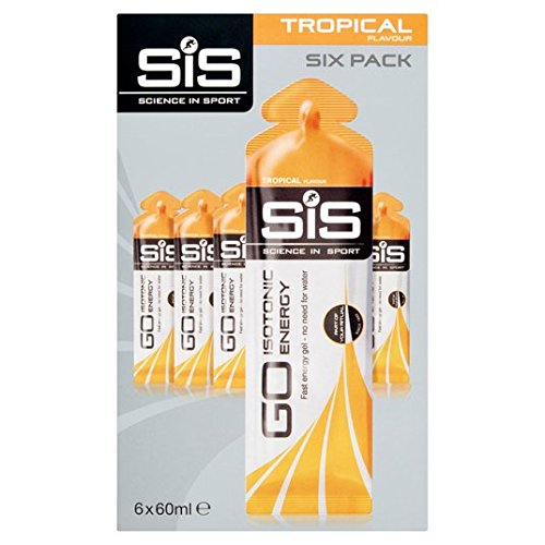 SiS GO isotónica Gel Tropical 6 x 60ml