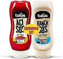 Tukaş Ranch Sos + Acı Sos Eko Paket 335 Gr + 400 Gr