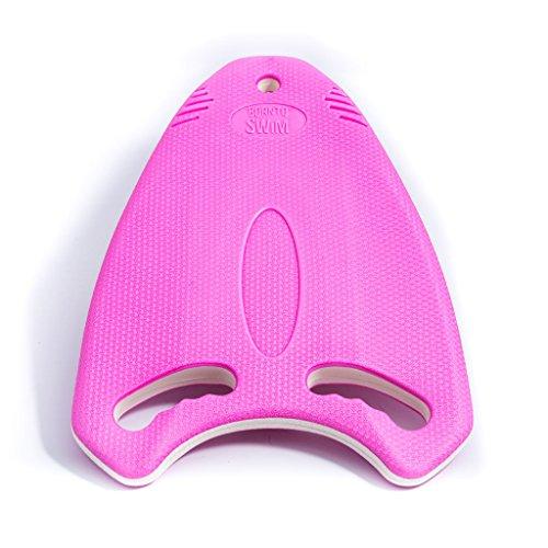 Bormioli nto Swim Resistente Multi Ayuda de Entrenamiento para Kickboard–Tabla de natación para niños y Adultos, Unisex, Robust Multi-Kickboard, Rosa, Medium