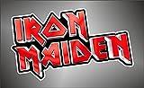 Graphic-lab Adesivo Iron Maiden Hip Hop Rap Jazz Hard Rock Pop Funk Sticker