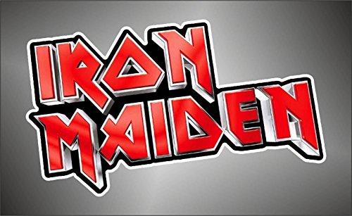 Iron Maiden Skin hip hop rap jazz hard rock pop funk sticker