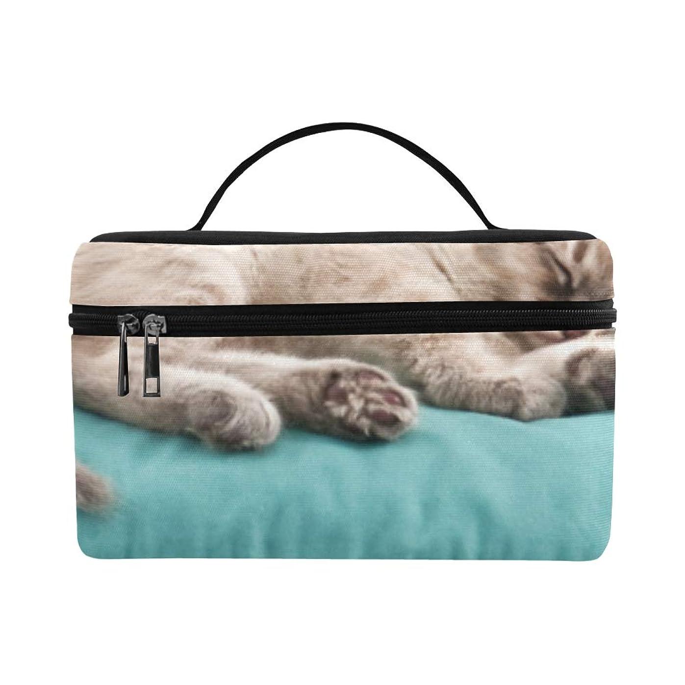 カウント等々団結GXMAN メイクボックス 猫 まくら コスメ収納 化粧品収納ケース 大容量 収納ボックス 化粧品入れ 化粧バッグ 旅行用 メイクブラシバッグ 化粧箱 持ち運び便利 プロ用
