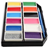 Face Paint Kit for Kids - Paints Over 100 Faces, Professional Award Winning Face Painting Set Safe for...