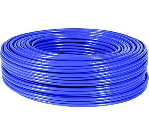 Bobina Cable CAT6 F/UTP Cobre 100m, Azul