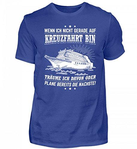 Chorchester - Camiseta para hombre de alta calidad azul real XL