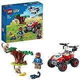 LEGO 60300 City Wildlife Rescate de la Fauna Salvaje: Quad, Vehículo Todoterreno de Juguete para Niños +5 Años