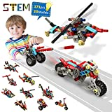 STEM Toys, 171 PCS Educational Building Toys Creative Air & Land & Water Transports Engineering STEM Learning Toys for Kids 6, 7, 8, 9, 10 Year Old Boys Girls Birthday Gifts