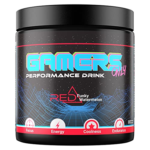 GAMERS ONLY RED Funky Watermelon, 400g (80 Portionen)