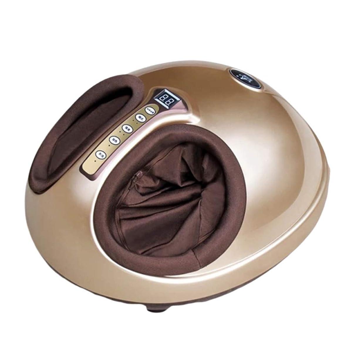 角度削る引き潮指圧フットマッサージャー、熱ローリング、電動圧縮、スクレーピング、リモートコントロール付き筋肉緩和足底筋膜炎のための磁気療法を備えた電動ディープニーディングマッサージャー